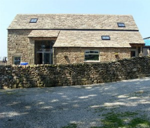 The Shippon at Lower Barn, one of the studio apartments available for holiday lets.