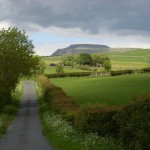 Ingleborough in summer