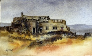 Derelict farmhouse in Calderdale, West Yorkshire by Kevin Brown