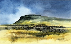Ingleborough by Kevin Brown